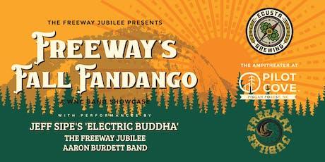 Freeway's Fall Fandango - WNC Band Showcase at Pilot Cove Amphitheater tickets