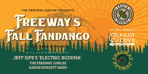 Freeway's Fall Fandango - WNC Band Showcase at Pilot Cove Amphitheater