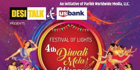 4th Annual Desi Talk & US Bank Diwali Mela Chicago tickets