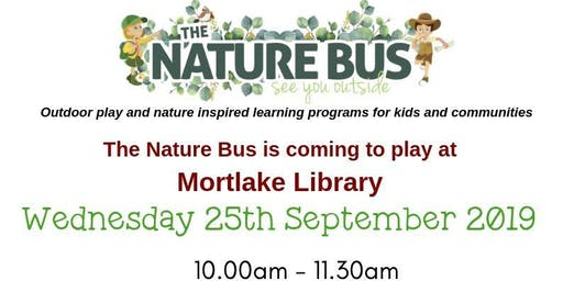 Nature Bus @ the Mortlake Library