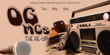 OG MCs THE RE-UP tickets