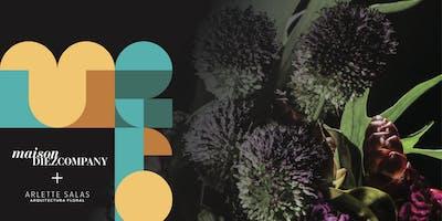 Flower Workshop: Arlette Salas en Maison Diez Company