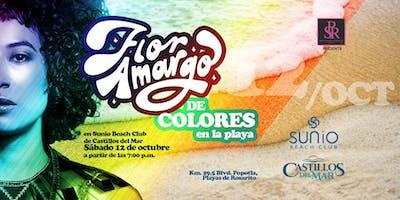 Flor Amargo de Colores en la Playa