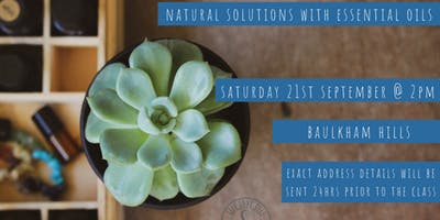 Natural Health Solutions with Essential Oils