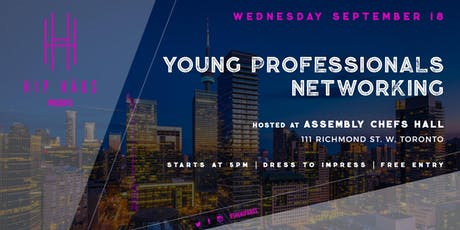 Young Professionals Networking by The Hip Haus - September 18th, 2019 tickets