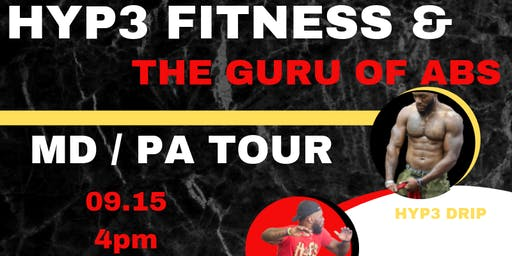 """*Emerge* Hyp3 Fitness and The Guru of Abs -   The """"Better Together"""" Tour  -"""