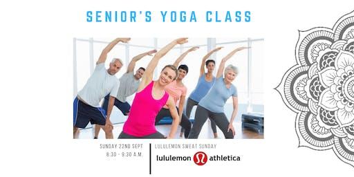 Lululemon Mt Maunganui // Seniors Yoga Class with Stephanie Olver