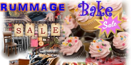 Rummage Sale and Bake Sale tickets