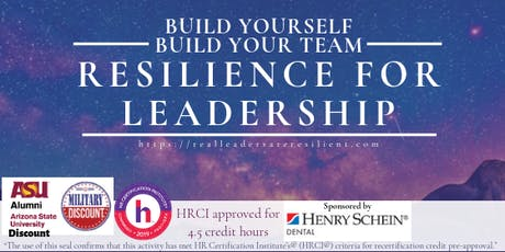 Resilience for Leadership Forum tickets