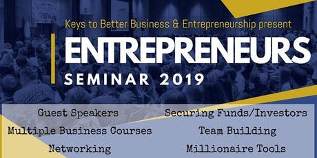 Entrepreneurship Conference 2019 - Become a Successful CEO! tickets