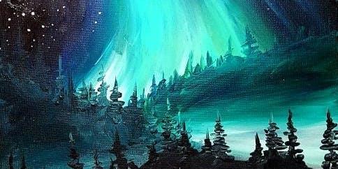 "Paint ""Magic Night"" in Richmond (Steveston) SUNDAY Funday Afternoon"