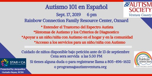 Autism Society Ventura County-Autismo 101 en Español
