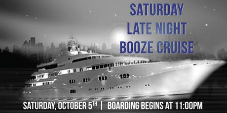 Saturday Late Night Booze Cruise aboard Spirit of Chicago on Oct. 5th tickets