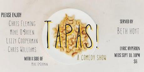 TAPAS! tickets