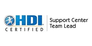 HDI Support Center Team Lead 2 Days Training in Birmingham