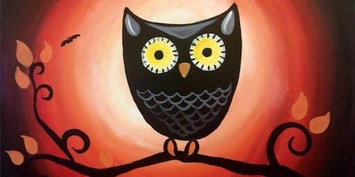 Paint Wine Denver Cute Owl Sat Nov 30th 11am $25