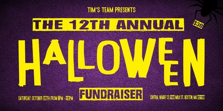 12th Annual Halloween Fundraiser tickets