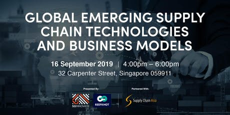 Global Emerging Supply Chain Technologies and Business Models tickets