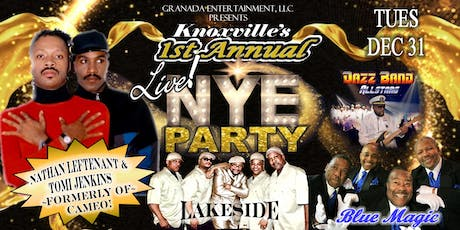 KNOXVILLE'S 1ST ANNUAL NYE PARTY - LIVE! tickets