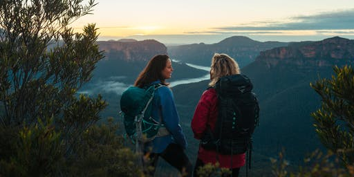 Women's Blue Mountains Overnight Hiking Trip // 19th-20th October