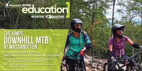 VA SheJumps Downhill Day at the Massanutten Bike Park tickets