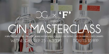 Gin Masterclass - presented by Noosa Heads Distillery tickets