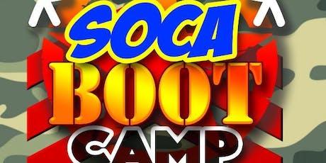 Boston Soca Boot Camp tickets