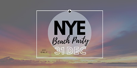 Copy of NYE Beach Party tickets