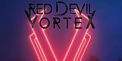 HALLOWEEN NIGHT RED DEVIL VORTEX at Lucky Strike Live Hollywood