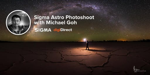 Sigma Astro Photoshoot with Michael Goh - Perth