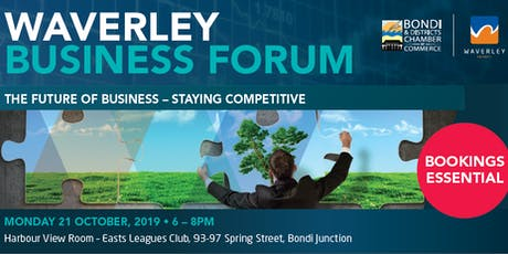 The Future Of Business - Staying Competitive  !  tickets