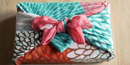 Furoshiki - Japanese eco fabric wrapping  (Vincentia)