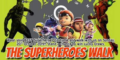 The Superheroes Walk tickets