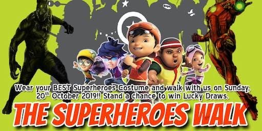 The Superheroes Walk