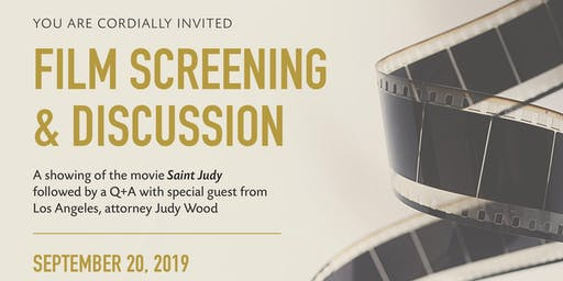 VIP Movie Screening of Saint Judy and Q&A with Special Guest - Judy Wood