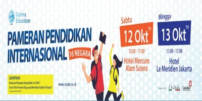 PAMERAN PENDIDIKAN INTERNATIONAL 2019