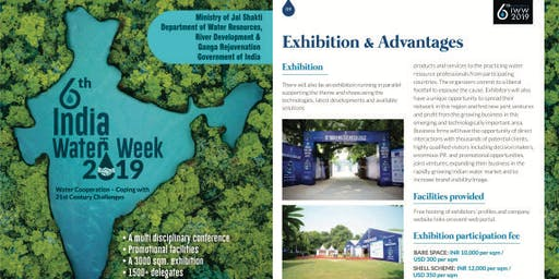 6th India Water Week Exhibition & Conference