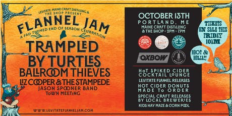 Levitate Flannel Jam on 10.13.19 - PORTLAND, ME