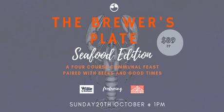The Brewer's Plate - Seafood Edition tickets