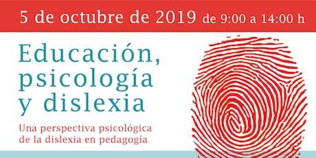 Educación, Psicología y Dislexia entradas