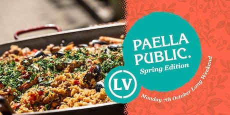 Paella Public Spring Edition tickets