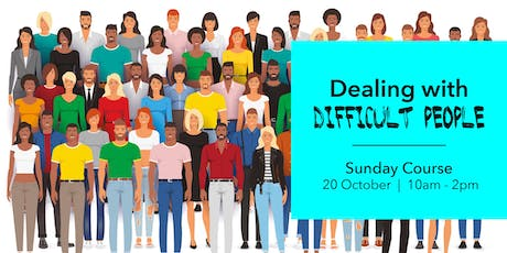 Dealing with Difficult People- Meditation Course tickets