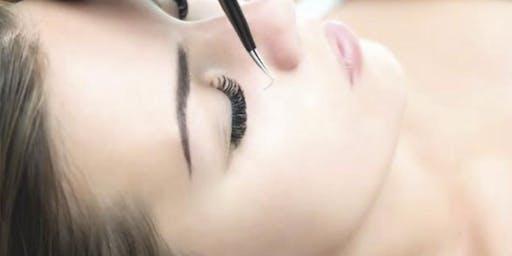 Eyelash Extension Certification Training, Greensboro NC ($200) Learning to Properly Apply Eyelash Extensions