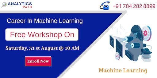 Free Workshop On Machine Learning By Analytics Path On 31st August @ 10 AM