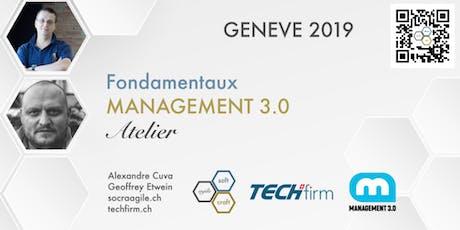 Atelier Fondamentaux de Management 3.0 avec Geoffrey et Alexandre billets