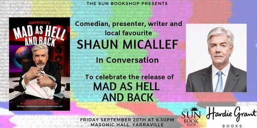 Author Event - Shaun Micallef In Conversation