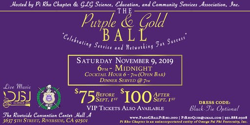 Purple And Gold Ball