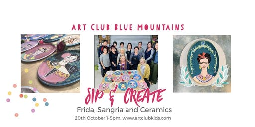 Art Club BM Sip & Create -Clay, Frida and Sangria