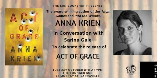 Author Event - Anna Krien In Conversation
