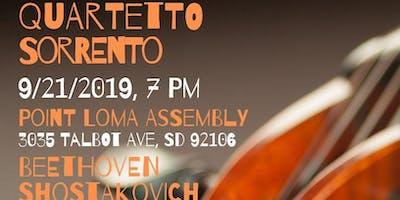 Classical Concert:  Quartetto Sorrento